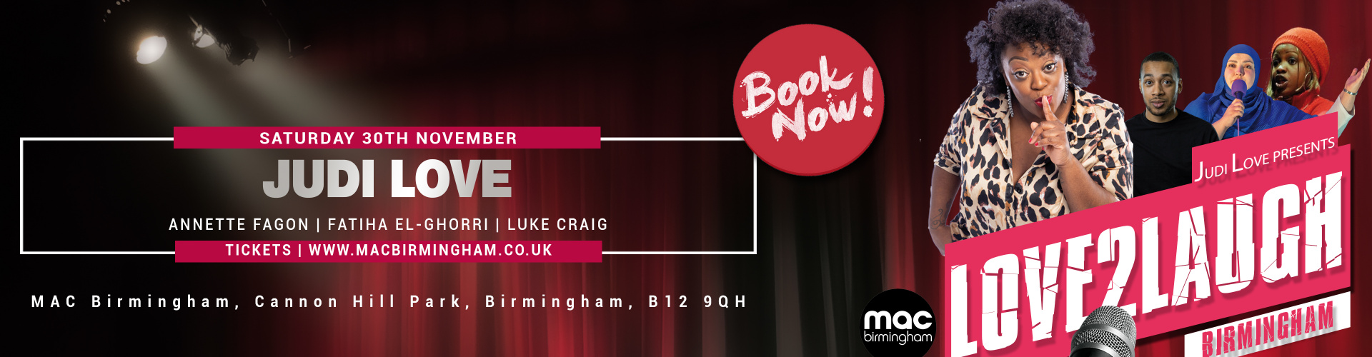 Love 2 Laugh Birmingham 2019