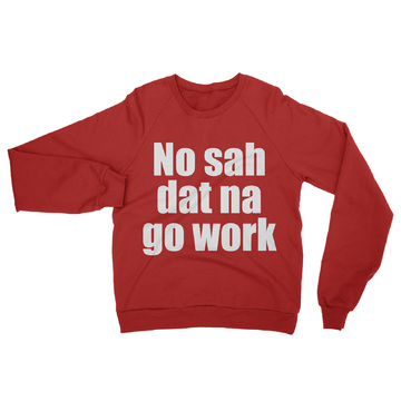 Crew-Neck-Unisex-Sweater-NO-sah-red 1